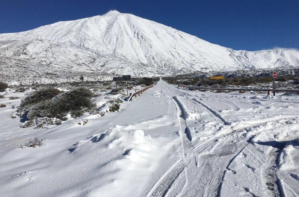 Bitácora subida al Teide