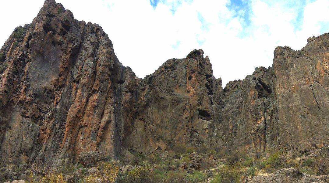 Croquis escalada Gran Canarias