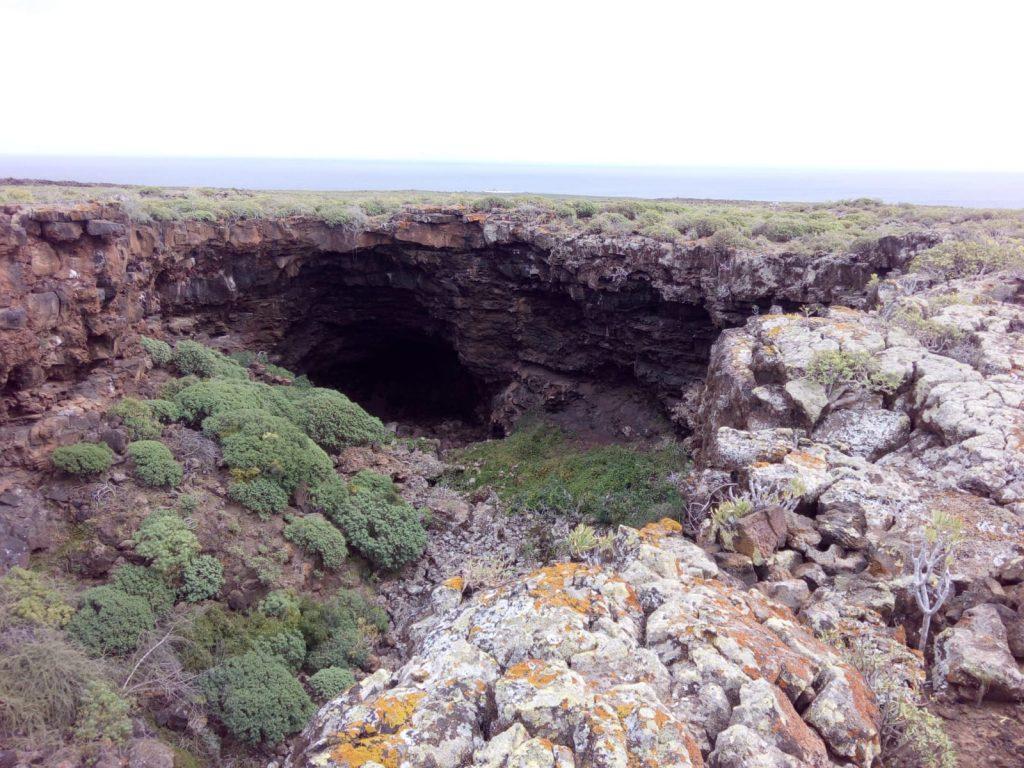 Zona de escalada Jameo puerta falsa