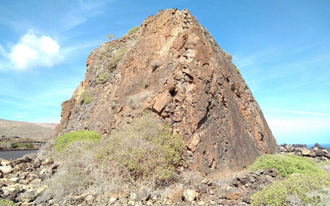 Zona de escalada Los Bolos Lanzarote