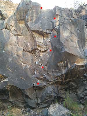 Zona de escalada Callao Salvaje Tenerife