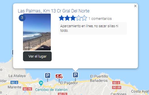 El Pagador Las Palmas km 13