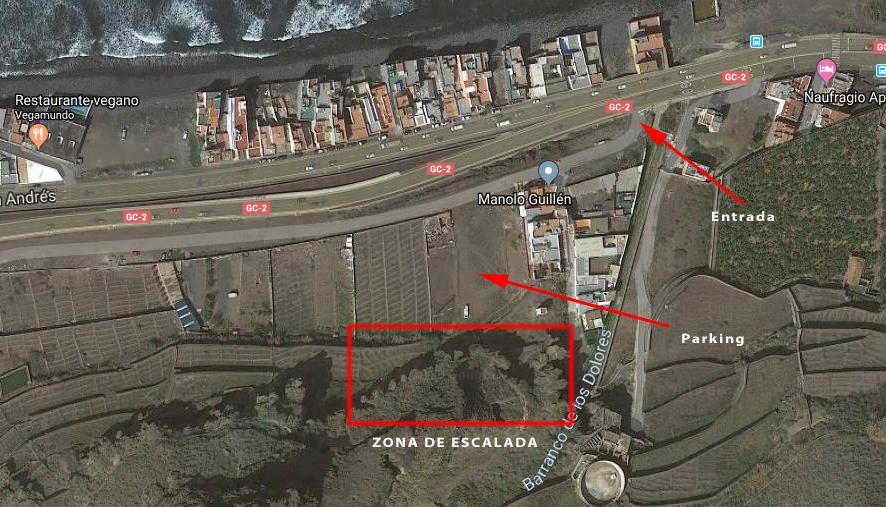 sector de escalada Quintanillas