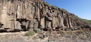 Zona de escalada el Poris