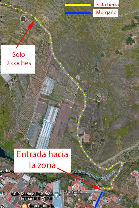 ubicaciones mesa tejina