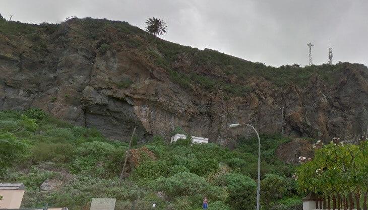 Zona de escalada San Marcos